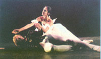 Soloists from the 'Monte Carlo' Ballet - Paula Cantaloupo and Peter Lyuton